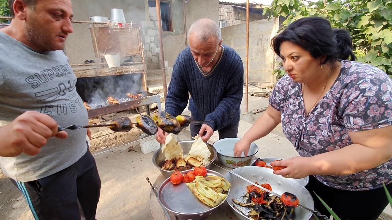 ШАШЛЫК по АРМЯНСКИ.Kebab in ARMENIAN.Քյաբաբ հայերենով