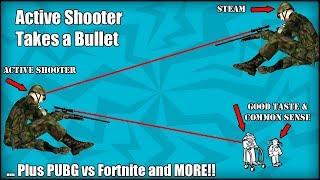 Steam KILLS Active Shooter!?