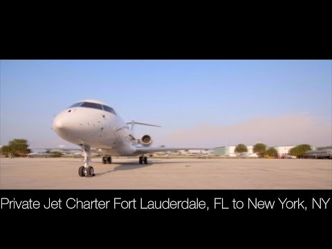 Fort Lauderdale, FL to New York, NY Private Jet Charter