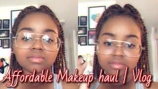 Mini Makeup Haul | Vlog | First Time Makeup Shopping With Selena