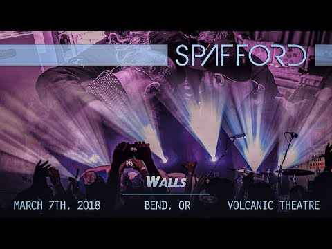 Spafford - WALLS - March 7th, 2018 - Bend, OR - Volcanic Theatre Pub