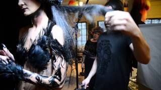 La Noir Reine 2014 NAHA Jake Thompson Hair (behind the scenes)