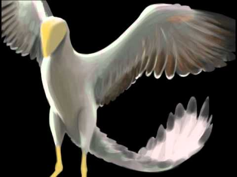 Michele The Sea - speed paint - Archaeopteryx