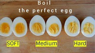 How to Make tнe Perfetct Boiled Egg | Soft | Medium | Hard
