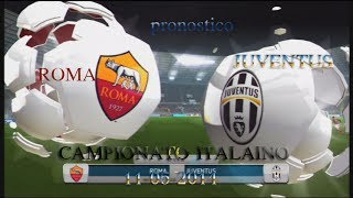 FIFA 14- PS3- PRONOSTICO -ROMA -JUVENTUS- 11 5 2014- commentary -ita-hd