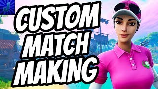 🔴FORTNITE CUSTOM MATCHMAKING (EU, CROSS PLATFORM) PLAYING WITH SUBSCRIBERS - FORTNITE SUNDAY