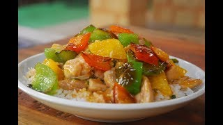 sweet and sour dish
