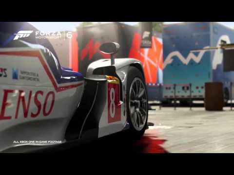 Forza Motorsport 6 - Trailer DLC Ralph Lauren Polo Red Car Pack