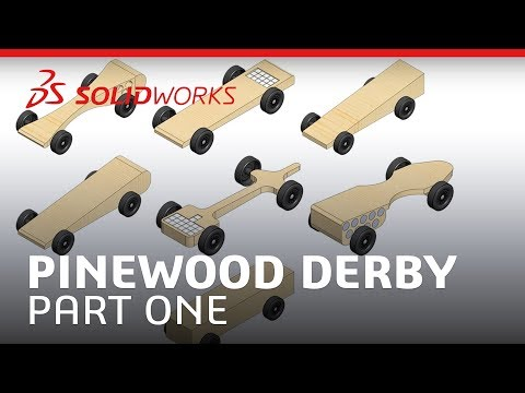 Pinewood Derby - Part One - SOLIDWORKS