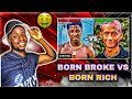 RAPPERS WHO WERE BORN BROKE VS RAPPERS WHO WERE BORN RICH |reaction