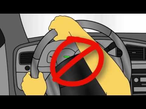 How To Free A Locked Steering Wheel