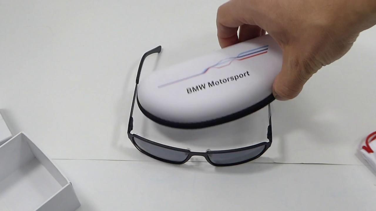 2134d3b0b75 Okulary przeciwsłoneczne BMW Motorsport 80252285875 - YouTube