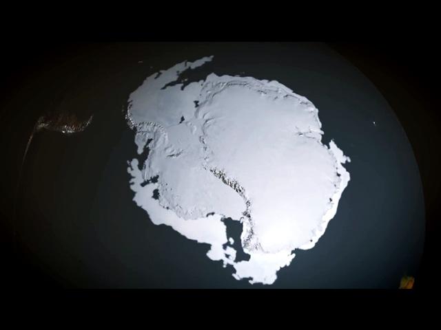 Загадочное антарктическое озеро