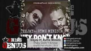 Teejay Ft. Ryme Minista - They Don-t Know [Ghetto Pain Riddim] April 2015