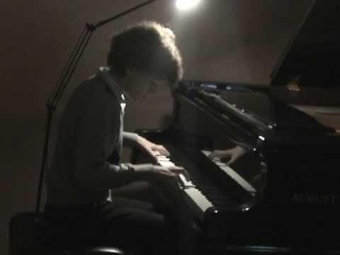 Tomer Shapira 2nd original piano piece NEVER GIVE UP