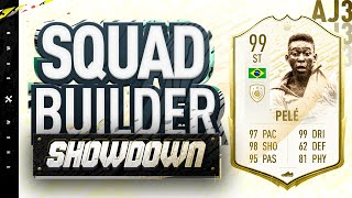 Fifa 20 Squad Builder Showdown!!! 99 RATE PRIME ICON MOMENTS PELE!!!