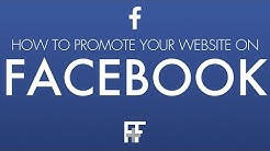 How to Promote your Website on Facebook