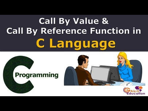 Call By Value and Call by Reference Function in C Language