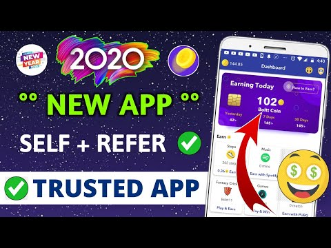 Earn ₹185 Daily | Best Earning App 2020 with Payment Proof | Earn money app | Boltt coin app review