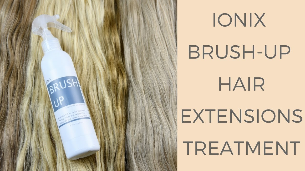 Brush Up A Hair Extensions Treatment Youtube