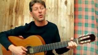 Le parapluie - G.BRASSENS  (guitar & vocal cover)