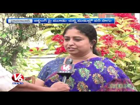 Terrace Gardening By Builder Ganesh   Paddy Farming On The Roof   V6 News