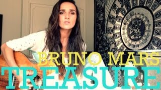 Bruno Mars - Treasure (official Ana Free cover)
