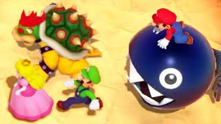 Super Mario Party - All Enemy Minigames (4 Players)