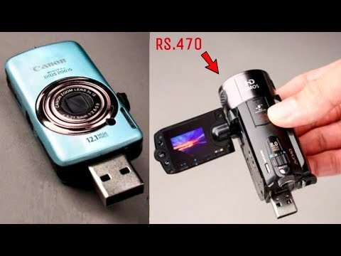 5 AMAZING GADGETS INVENTION ▶ Helps to Capture Spy Photos & Videos