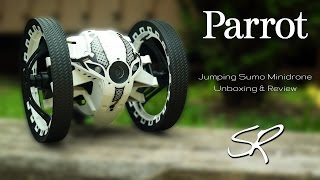 Parrot Jumping Sumo MiniDrone Review | The Coolest Robot of 2015?