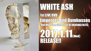 "【2017年1月11日発売】""Emperors And Dumbasses"" Trailer第一弾 / WHITE ASH"