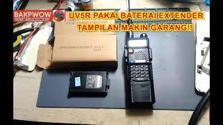 Baterai Walkie Talkie 1500mAh for Baofeng BF-UV3R 4.6 Berkualitas VCH802 - Original 689