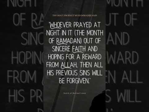 Engage in sincere prayers during the nights of #Ramadan l #Shorts