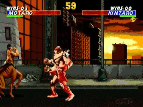 Ultimate Mortal Kombat 3 Trilogy (SEGA)