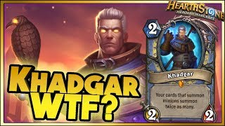 KHADGAR WTF? - Hearthstone - WTF Moments - Daily Funny Rng Moments