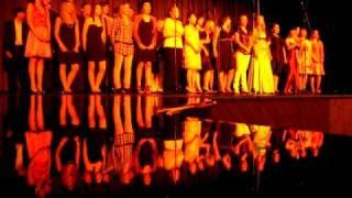 Abschluss 2009 Realschule alle 10er singen...goodbye von sasha