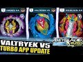 VALTRYEK V5 HADES H4 EPIC UPDATE BEYBLADE BURST TURBO APP mp3