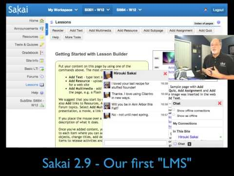 Sakai: The First Ten Years and the Next* Ten Years - 5-Mar-2013