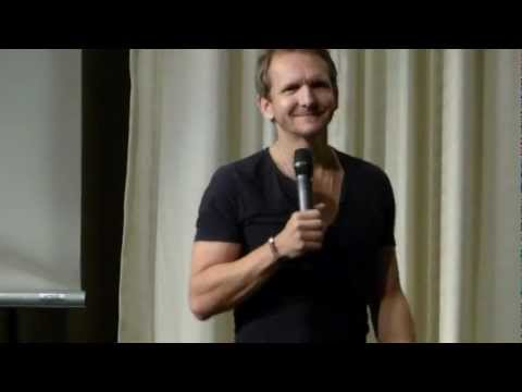 Sebastian Roché  speaking Danish  using Angel wings HQ
