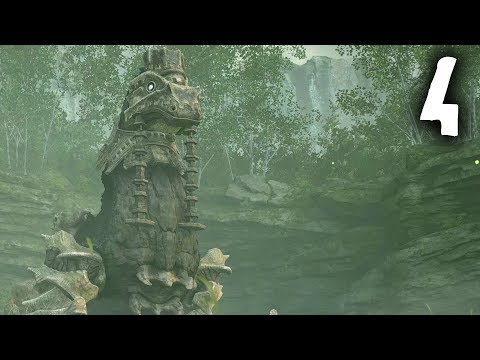 Shadow of the Colossus PS4 4th Colossus Gameplay Walkthrough – Phaedra