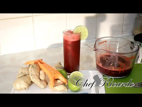 Beetroot Juice With Lemon &Honey & Ginger Healthy Recipes