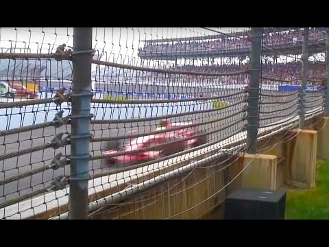 2007 Formula 1 USGP Spectator Video with the amazing sound of REAL Formula 1 engines.