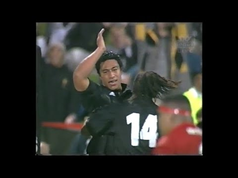Filo Tiatia debut try vs Tonga 2000