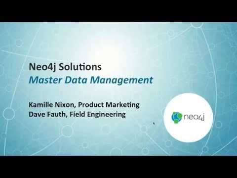 Master Data Management (MDM) with Neo4j