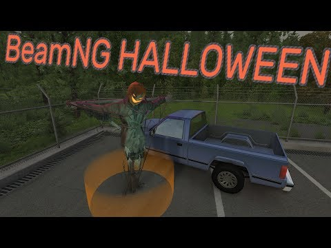 HALLOWEEN IN BeamNG.drive (2018 Edition Though)