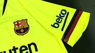 Barcelona away kit 2018/19 - fcbjerseys.com