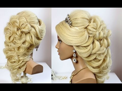 Wedding Prom Hairstyle for Long Hair