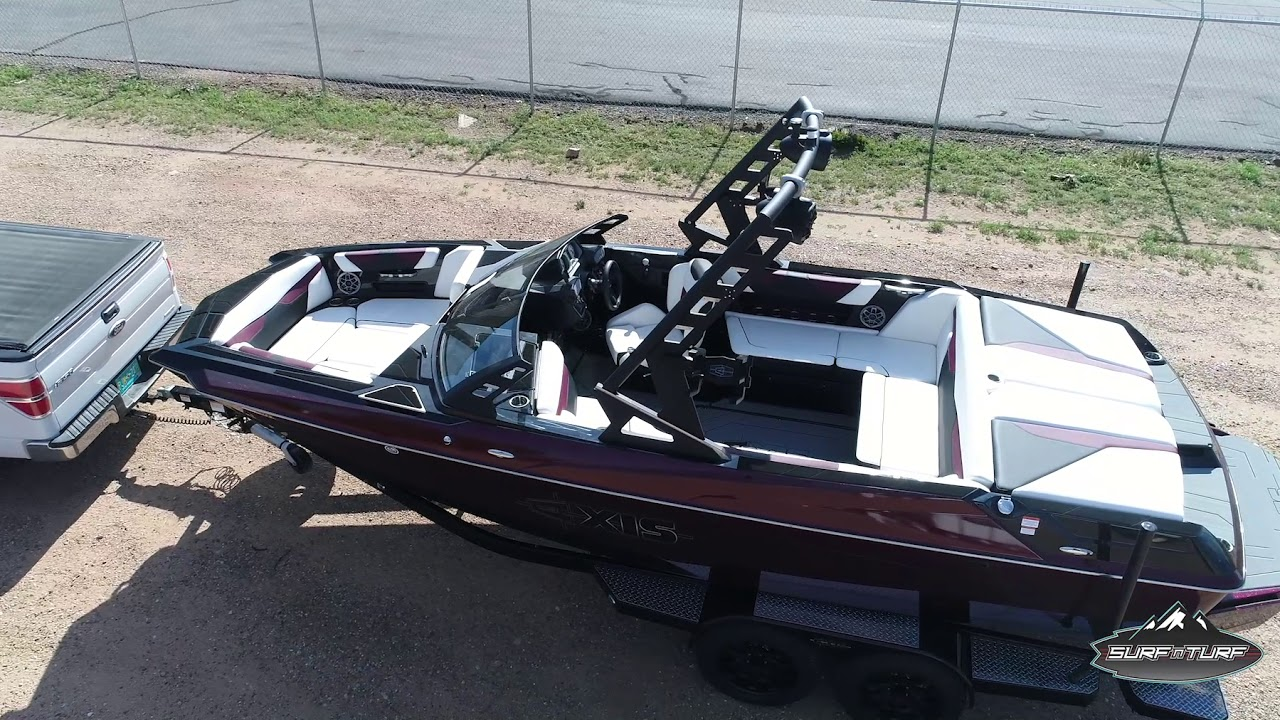 2019 AXIS A22 New Mexico Wake Boat