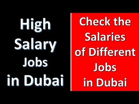 High Salary Jobs in Dubai | Dubai Job's Salaries | How to find a Job in Dubai
