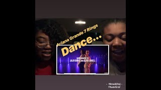 Ariana Grande -7 Rings - Dance Choreography by Jojo Gomez & Aliya Janell (REACTION)